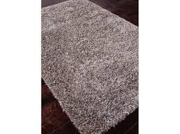 Solid Area Rugs Jaipur Rugs Floor Coverings Shag Solid Pattern Polyster Wool Gray