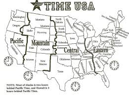 map of time zones usa and mexico us time zone map 94a94d9fcac8d98c96aab3cd38c3661f time zone