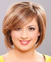 hairstyles for women with a large chin 31 best short hairstyles for round and chubby faces images on