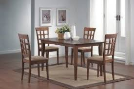 Dining Tables 4 Chairs Walnut Dining Table And Chairs Foter