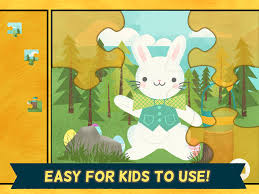 easter bunny games for kids easter egg hunt jigsaw puzzles hd for