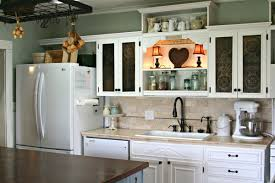 Retro Kitchen Design Ideas U Shape Kitchen Decoration Ideas Using White Wood Kitchen Cabinet