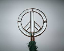 peace decorations etsy