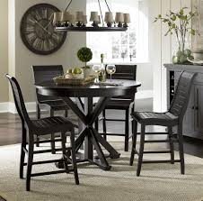 round counter height table set progressive furniture willow dining 5 piece round counter height