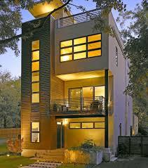 house designs for a narrow lot decohome