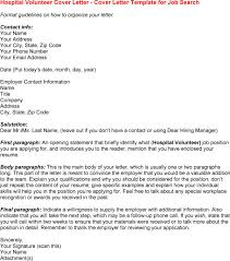 45 cover letter for a volunteer position best photos of volunteer
