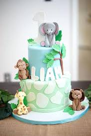 zoo themed birthday cake animal themed birthday party cake best cakes ideas on for birthday