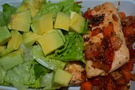 avocat cuisine saumon et salade d avocat mangeons lakay