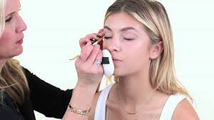 how to be a professional makeup artist gigi hadid look by makeup artist monika blunder