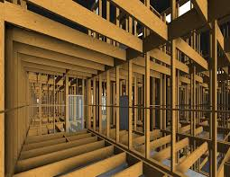 framing revit with light frame timber floor systems wood