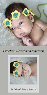 crochet flower headband crochet flower headband pattern