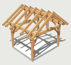timber frame shed plans timber frame hq