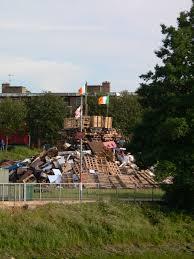Images Of The Irish Flag File Irish Flag On Bonfire Jpg Wikimedia Commons