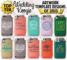 koozies for weddings wedding koozie ideas 10 hot wedding koozies totally