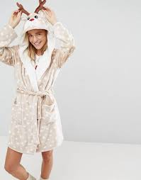 asos is selling a reindeer dressing gown with antlers u2026 and it