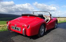 Triumph Tr3 Interior 1959 Triumph Tr3 A For Sale Classic Cars For Sale Uk