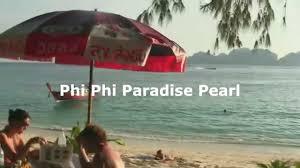 restaurant paradise pearl bungalows ko phi phi thailand youtube