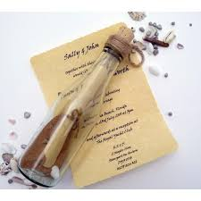 message in a bottle wedding message in a bottle wedding invitations memorable wedding planning