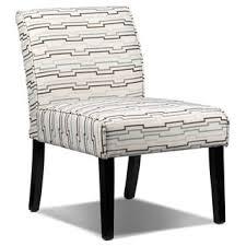 Striped Slipper Chair Lc19b Geo Stripes Slipper Chair Green Beige Brown U2013 The Rental Dept