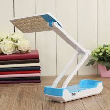 portable folding led foldable rechargeable table study reading