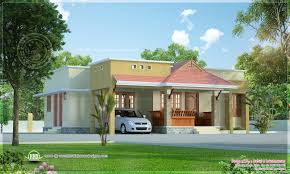 Small Economical House Plans Small Kerala Style Beautiful House Rendering Home Design
