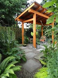 Decorating Small Backyards by Decorating Small Garden Landscape Ideas For Unwinding Time Bee