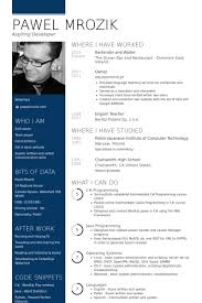 Waiter Resume Examples by Waiter Resume Samples Visualcv Resume Samples Database