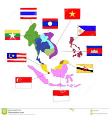 Southeast Asia Flags Aec Southeast Asia Flag Icon Vector Illustration Cartoondealer
