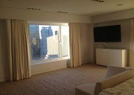 Manhattan Curtains Custom Blackout Sun Blocking Drapes In New York City Alluring