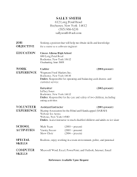 Beowulf Resume Skills Resume Examples Objective For Nanny Resume Nanny Work