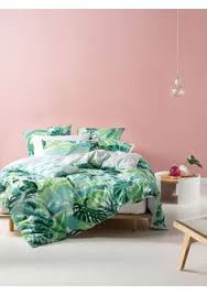 Mint Green Duvet Set Tropical Flowers Duvet Cover Duvet Bedrooms And Tropical Bedding