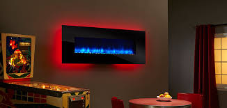Wall Mounted Electric Fireplace Simplifire Wall Mount Electric Fireplace Series