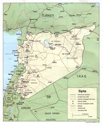 Map Syria by Map Of Syria