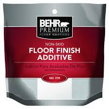 behr premium non skid floor finish additive 97024 the home depot