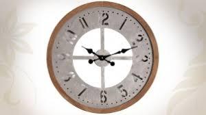 Grande Horloge Murale Carrée En Bois Vintage Achat Horloges Murales Horloges Originales