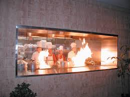 Restaurant Kitchen Layout Ideas Contemporary Restaurant Kitchen Window Back Wall I Inside Design