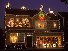 Lighted Christmas Decorations by Lighted Christmas Pictures Christmas Lights Decoration