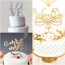 simple wedding cake toppers wedding cake toppers with script wedding cakes