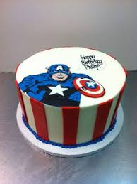 captain america cake all about cakes by brenda pinterest