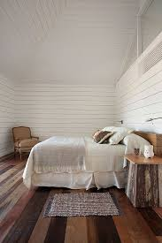 Wood Walls In Bedroom Rustic Bedroom With White Wood Walls Homedesignboard