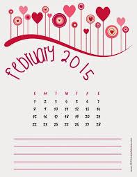 printable art calendar 2015 12 best free printable calendar february 2015 images on pinterest