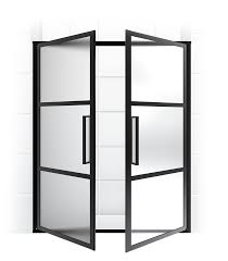 gridscape series coastal shower doors full divided light french doors
