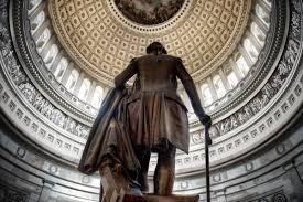 george washington statue in u s capitol building rotunda u s george washington statue in u s capitol building rotunda