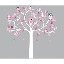 Girl Nursery Wall Decals by Scroll Tree Wall Decals Are Great To Decorate A Girls Nursery Or Room