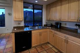kitchen with flush u0026 terracotta tile floors in tucson az zillow