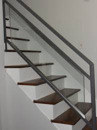 Stainless Steel Banister Rail Stair Indoor Banister Metal Handrails Modern Stair Railings