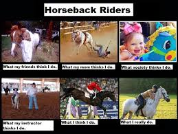 Horse Riding Meme - image 253145 what people think i do what i really do know