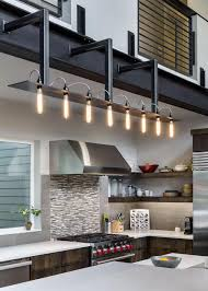 Industrial Kitchen Lighting by Interior Modern Industrial Pendant Lighting With Triple White