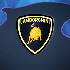 lamborghini symbol on car lamborghini emblem photograph by mike mcglothlen
