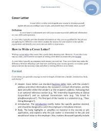 definition of cover letter resume and cover letter meaning inside